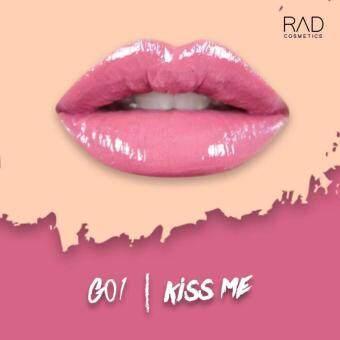 ของแท้ ลิปน้ำชา RAD Cosmetics สี Kiss Me : G01 RAD Glossy Liquid Lipstick