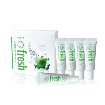 i-fresh ชุดยาสีฟันพกพาเพื่อดูแลช่องปากและฟัน i-fresh Multicare Toothpaste Travelling Set 5 pcs/set