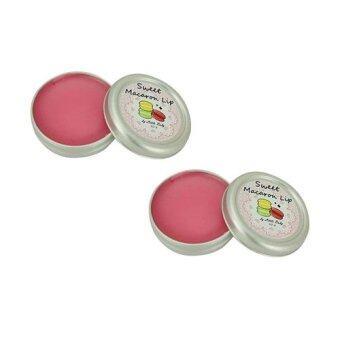 Little Baby Sweet Macaron Lip Balm ลิปปากชมพู 10g ( 2 ตลับ)