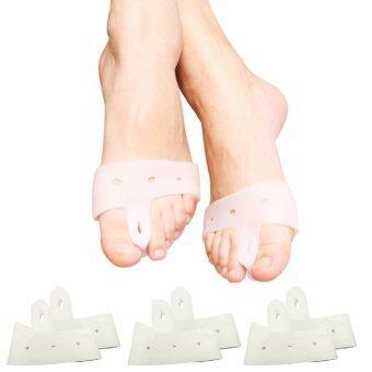 ซิลิโคนถนอมนิ้วเท้า รักษาอาการ นิ้วเท้าโก่ง 3 คู่