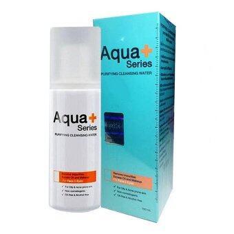 Aqua Plus Series Purifying Cleansing Water ผลิตภัณฑ์ทำความสะอาดผิวหน้า (150 Ml.)