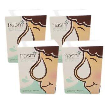 Hashi Salt for Nasal Rinse Gentle Formulaเกลือสำหรับล้างจมูก สูตรอ่อนโยน4กล่อง/แพ็ค(1แพ็ค)
