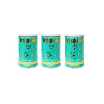 PGP-GOLD-ENZ โกลด์-เอ็นซ์ (โกลด์ เอนไซม์ บำรุงร่างกาย) ขนาดบรรจุ 250 กรัม (3 กล่อง)