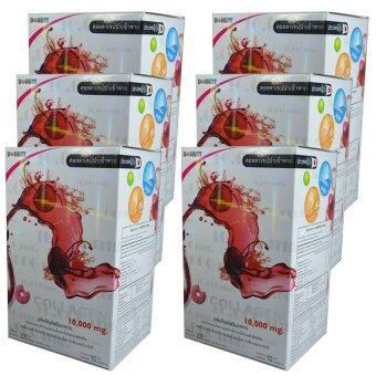 Donut Collagen 10000 mg โดนัท คอลลาเจน 10ซอง/กล่อง (6กล่อง)