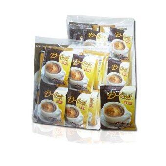 ขายยกลัง! D-CUP COFFEE กาแฟสำเร็จรูปควบคุมน้ำหนัก 5in1 ผสมคอลลาเจนและแอล-คาร์นิทีน (12 แพ็ค แพ็คละ 24 ซอง)