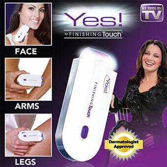 lisa อุปกรณ์กำจัดขนเลเซอ Yes Finishing Touch กําจัดขนรักแร้ กําจัดขนขา เครื่องถอนขนไฟฟ้า ความงามและสุขภาพ อุปกรณ์ทำความสะอาดร่างกาย lisa 0027ขาว