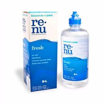 renu fresh multi-purpose solution น้ำยาล้างแช่คอนแทคเลนส์ 60 ml.