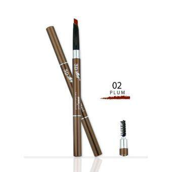 Saynow Girls 3D ART AUTO EYEBROW PENCIL ดินสอเขียนคิ้ว (0.3ml.) NO. 02 PLUM