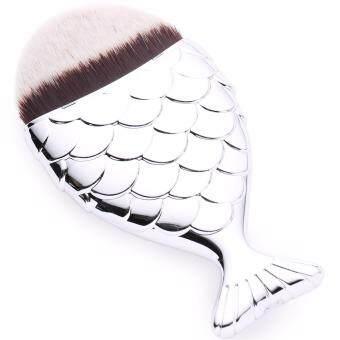 Fishtail Contour Brush Makeup Brush แปรงแต่งหน้า ปลาน้อย แปรงปัดแก้ม แปรงคอนทัวร์ แปรงเฉดดิ้ง
