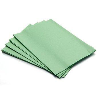 น้ำมันนวดผิวหมึกกระดาษทิชชูซับควบคุมฟิล์ม 100 TH: Sheet สีเขียว