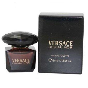 Versace Women's Perfume Crystal Noir EDT (5ml.)พร้อมกล่อง
