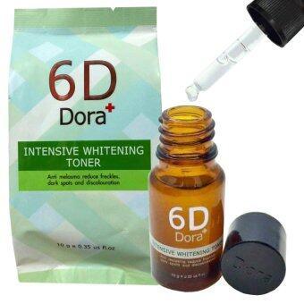 โทนเนอร์รักษาฝ้า กระ 6D Dora+ Intensive Whitening Toner