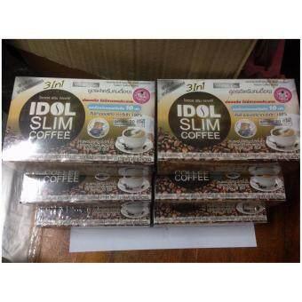 Idol Slim Coffee ไอดอล สลิม คอฟฟี่ บรรจุ 10 ซอง (6 กล่อง)