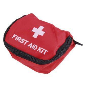 Allwin ชุดปฐมพยาบาล 0.7ลิตรสีแดงผ้าเต้นท์กันน้ำถุงยังชีพยาฉุกเฉินสีแดง (ในประเทศ)