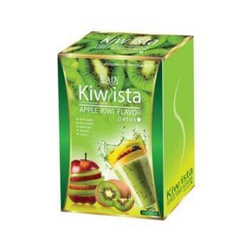 reginar Kiwista Apple กีวิสต้า ดีท็อกซ์ 1 กล่อง (5ซอง)
