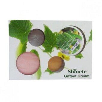 Shinete' ครีม ชิเนเต้ ผลิตภัณฑ์ดูแลผิวหน้า (1 ชุด)