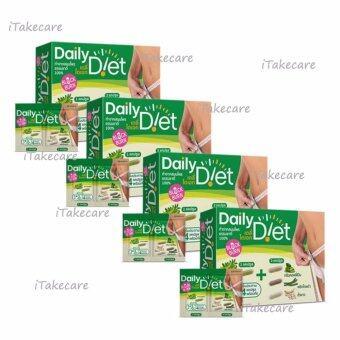 Daily Diet Block&Burn เดลี่ไดเอท 4 กล่อง (40 แคปซูล/กล่อง) กาแฟเขียว green coffee bean ไร้พุง ลดความอ้วน ผอมเร็ว สมุนไพรพริกไทยดํา ถั่วขาวลดน้ําหนัก มะขามแขกช่วยระบาย