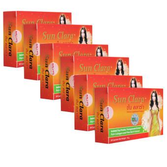 Sun Clara กล่องสีส้ม (30 แคปซูล x 6 กล่อง)