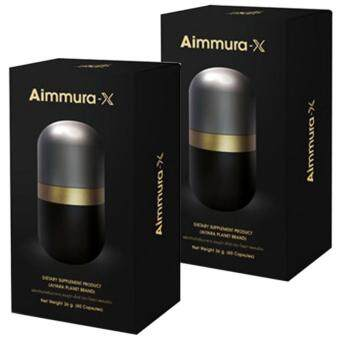 Aiyara Aimmura X ไอยรา เอมมูร่า เอ็กซ์ สารเซซามินสกัด จากงาดำ สูตรใหม่ เพิ่มเซซามินเข้มข้น 20 เท่า ลดการอักเสบข้อกระดูก ลดความดัน ลดการปวดเข่า ลดการเสื่อมของเซลล์ เสริมสร้างภูมิคุ้มกัน ขนาด 60 แคปซูล (2 กล่อง)