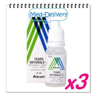 ALCON Tears Naturale น้ำตาเทียม15ml * 3 BOT (ขวด)