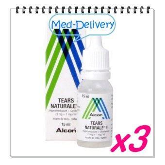ALCON Tears Naturale น้ำตาเทียม15ml * 3 BOT (ขวด)