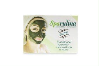 Sparulina มาสก์พอกหน้าจากสาหร่ายสไปรูลิน่า 100%