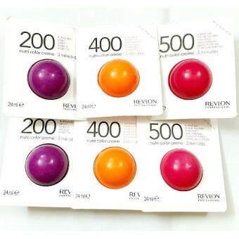 Revlon Nutri color cream 200 400 500 size 24ml ครีมเคลือบสีผมพร้อมบำรุงขนาดเล็ก 24ml x 6 ลูกเล็ก