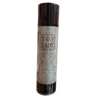 TOP LADY Instant Hair Color Spray No.7 Black ท๊อปเลดี้ แฮร์คัลเลอร์ สเปยร์ สีดำ (100g.)