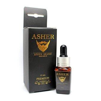 Asher Hair Serum Premium น้ำยาเซรั่มปลูกหนวด คิ้ว ขนตา เครา จอน เส้นผม สูตรพรีเมี่ยม