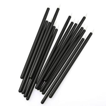 100ชิ้นเครื่องสำอางแต่งหน้าใสให้ใช้เครื่องมือดินสอแปรงไม้จุก