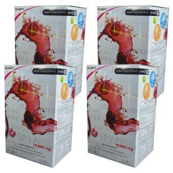 Donut Collagen 10000 mg โดนัท คอลลาเจน 10ซอง/กล่อง (4 กล่อง)
