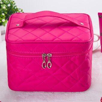 กระเป๋าเครื่องสำอางผู้หญิง Cottom แพคเกจท่องเที่ยวชม Torage กระเป๋า (กุหลาบแดง)