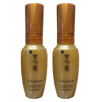Sulwhasoo capsulized ginseng fortifying serum เพิ่มความยืดหยุ่นและเรียบเนียน 8ml (2 ขวด)