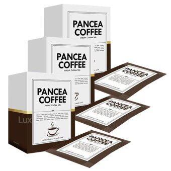 Pancea Coffee กาแฟลดน้ำหนัก แพนเซีย คอฟฟี่ ด้วยส่วนผสมพิเศษกว่า 15 ชนิด บรรจุ 10 ซอง ( 3 กล่อง)