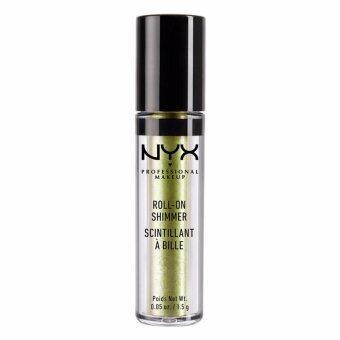 นิกซ์ โปรเฟสชั่นแนล เมคอัพ โรล ออน อาย ชิมเมอร์ - RES06 โอลีฟ NYX Professional Makeup Roll On Eye Shimmer - RES06 Olive