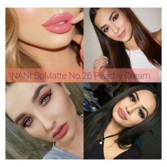 ลิปสติก เนื้อแมท NANI Long Lasting Lip เบอร์26
