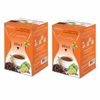 Starwell กาแฟปรุงสำเร็จชนิดผง ตรา สตาร์เวลล์ แอล - คาร์นิทีน กาแฟ ลดน้ำหน้ก 2 กล่อง (10 ซอง/กล่อง)