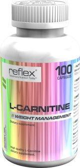 Reflex L-Carnitine ขนาด 100 แคปซูล 1 กระปุก