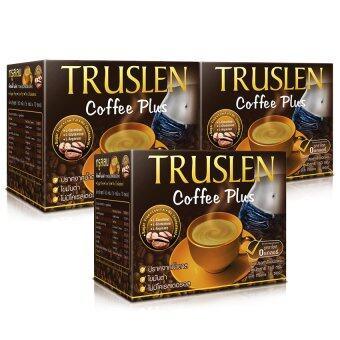 Truslen Coffee Plus กาแฟสร้างมวลกล้ามเนื้อ (2 กล่องฟรี 1 กล่อง)