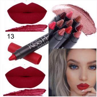 #No.13 คิสพรูฟ+กบเหลา Menow Kissproof Soft lipstick 4.2g.
