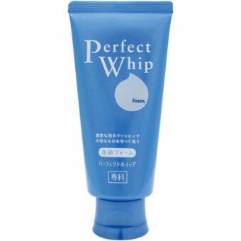 Shiseido Senka PERFECT WHIP CLEANSING FOAM 120 กรัม โฟมล้างหน้าเนื้อวิปเนียนนุ่ม