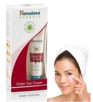 Himalaya Herbals Under Eye Cream 15ml *1 หลอด (บำรุงใต้ตา ตาคล้ำ ถุงน้ำใต้ตา)