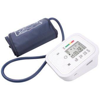 ชีพจรความดันโลหิตที่ต้นแขนระบบดิจิตอลมอนิเตอร์ tonometer แบบพกพาเครื่องวัดความดันสาธารณสุข sphygmomanometer