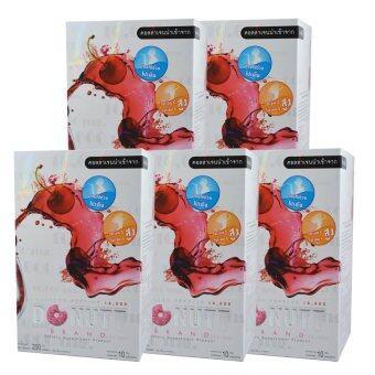 Donut Collagen 10000 mg โดนัท คอลลาเจน 10ซอง/กล่อง (5 กล่อง)