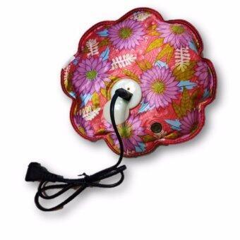 Electricity warm bag ( กระเป๋าน้ำร้อนไฟฟ้า ลายดอกไม้ )