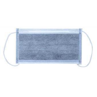 DYNAREX 4 PLYS CARBON FACE MASK (PACK 50:1) หน้ากากคาร์บอน ใยสังเคราะห์ 4 ชั้น ป้องกันไอระเหย โลหะหนัก (1 กล่องมี 50 ชิ้น)