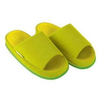 Refre OKUMURA Slippers รองเท้านวดเพื่อสุขภาพ สีเขียวอ่อน size M