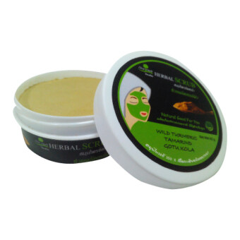 chai herb ผงสมุนไพร สครับผิวหน้า ( Herbal Scrub