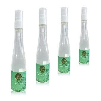 น้ำมันมะพร้าวบริสุทธิ์สกัดเย็น 100% เกรดพรีเมี่ยม (Nature mind) 100ml 4 ขวด