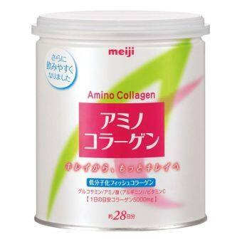 Meiji Amino Collagen เมจิ อะมิโน คอลลาเจน 5000 mg /ช้อน 200 g